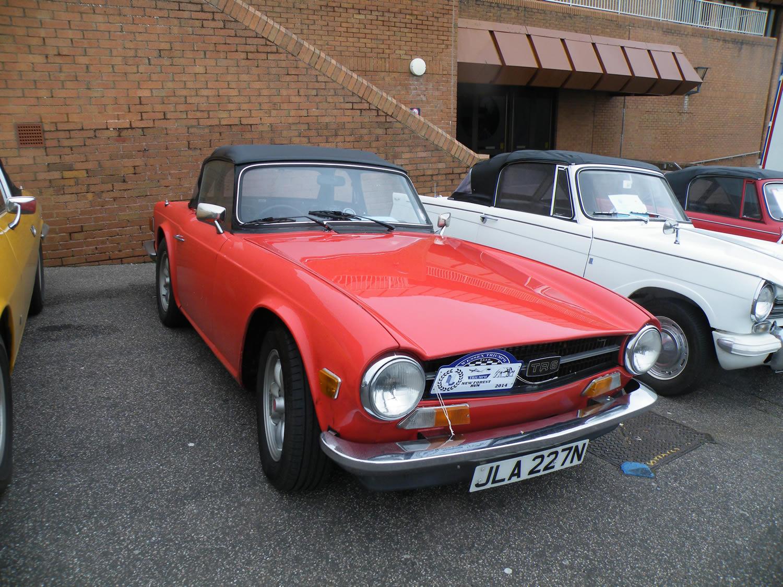 Steve Derbyshire's car