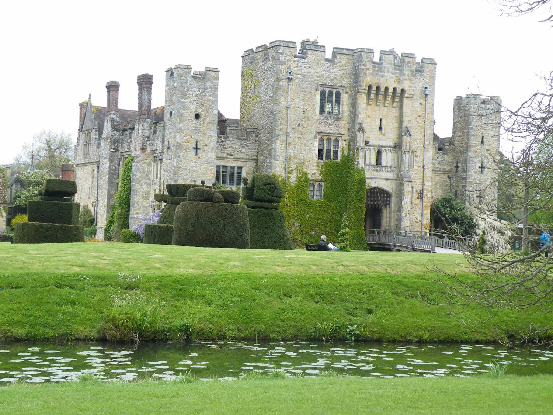 The castle again