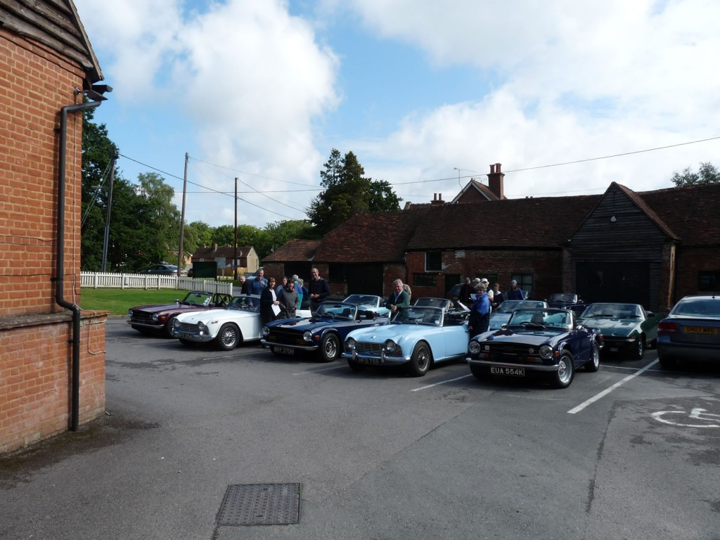 At the Phoenix in Hartley Whitney ready for the off