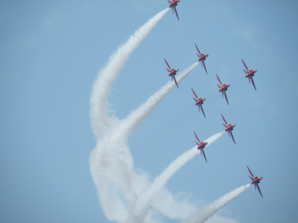 Sum of the Red Arrows = 9