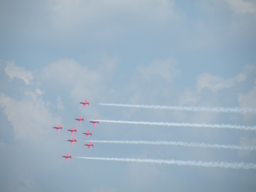 More of the Red Arrows