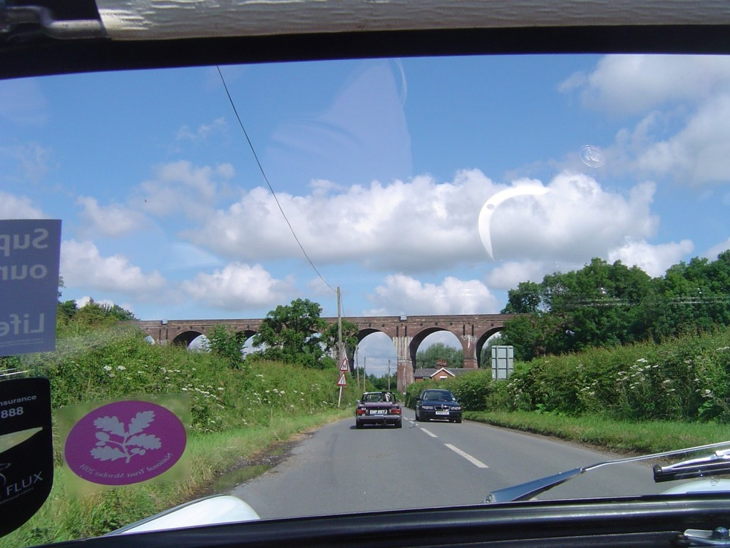 A pretty 8 span Viaduct (according to the excellent set of directions)