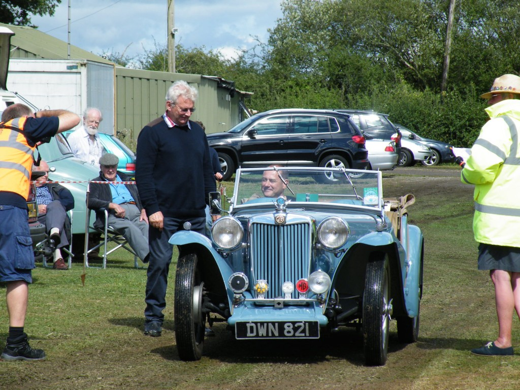 Runner up of the pre 1960 sports car, Dave was 1st