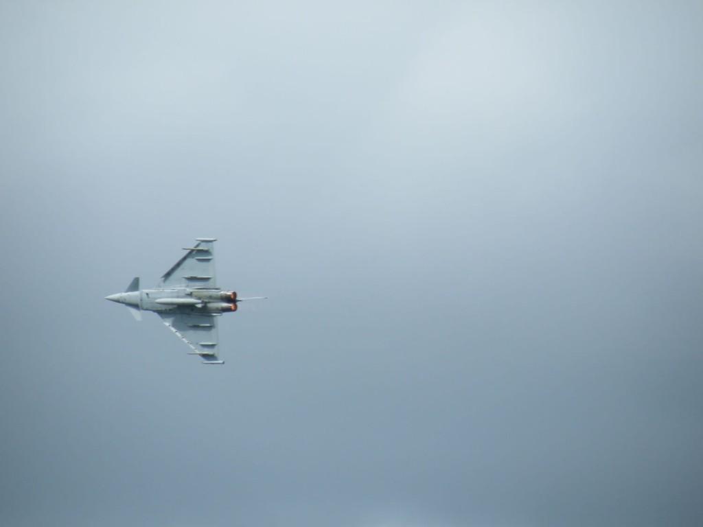 A noisy Eurofighter
