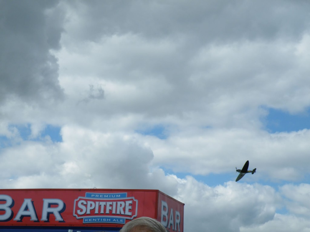 Two Spitfires (very clever Linda)