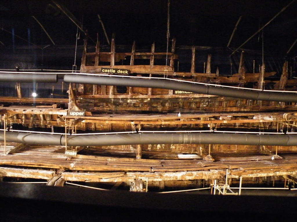 The Mary Rose - this really was quite stunning
