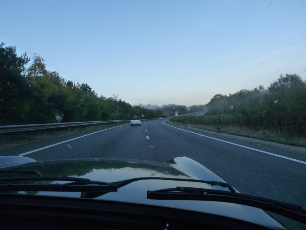 Back on the road again (the A3 to be precise)