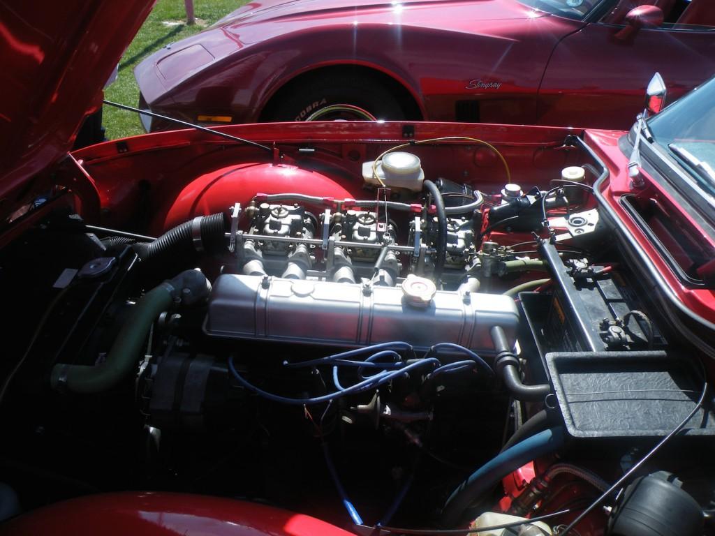 Steve Moss's mighty engine