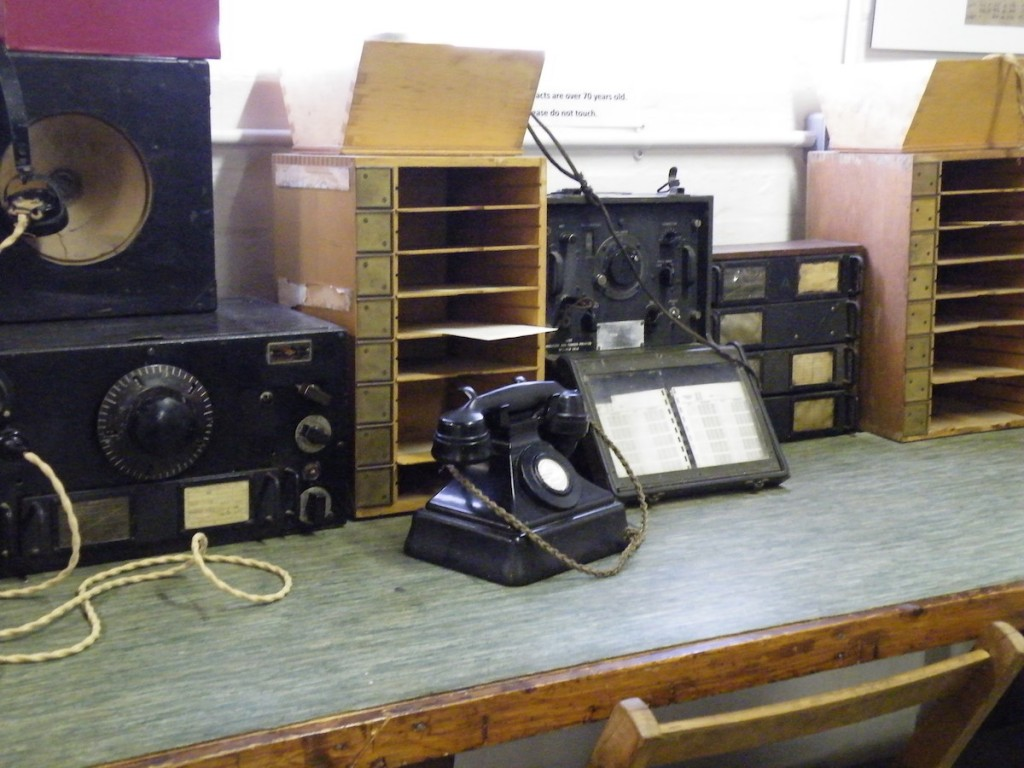 Collection of communications equipment