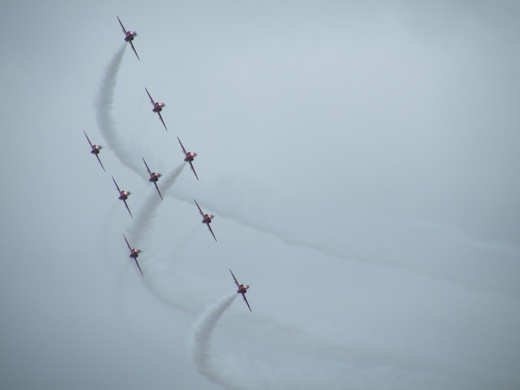 More Red Arrows