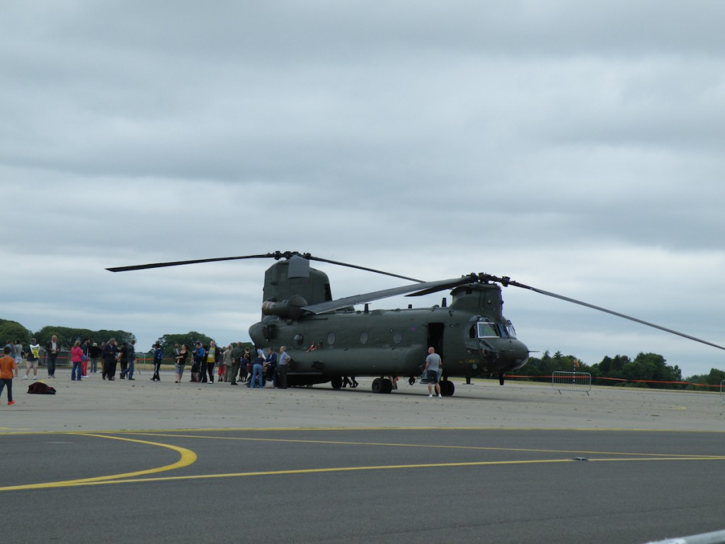 The Chinook, affectionately known as the Wokka