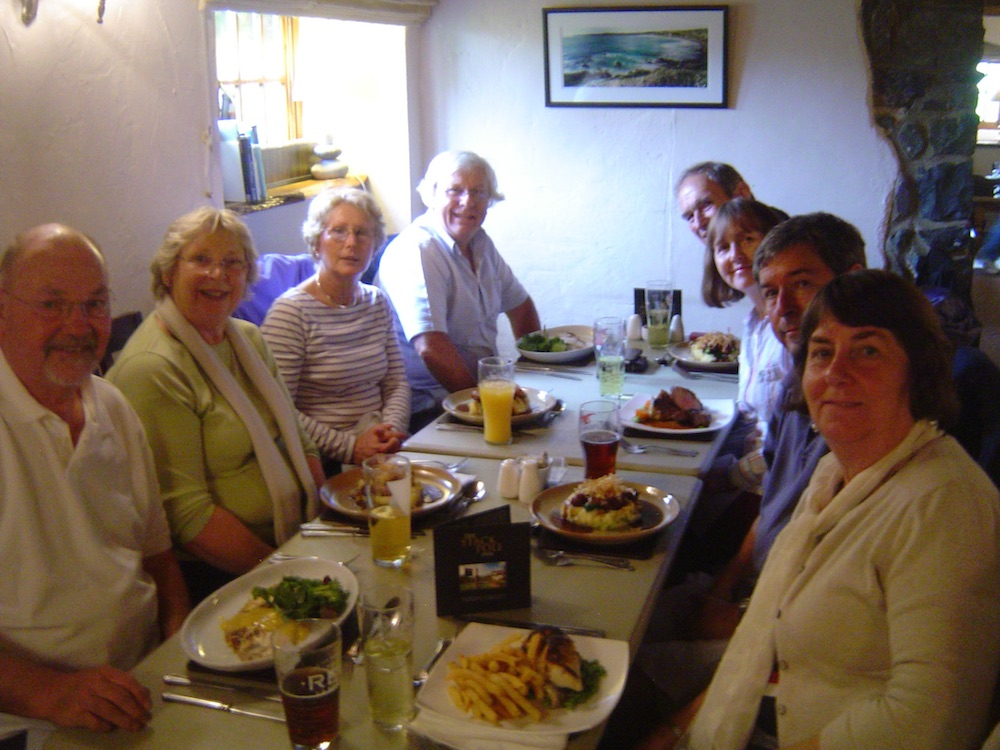 Lunch at the Stackpole Inn