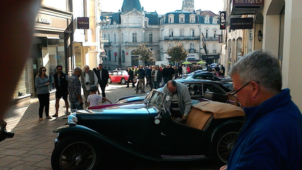 Display of Classics in Angouleme