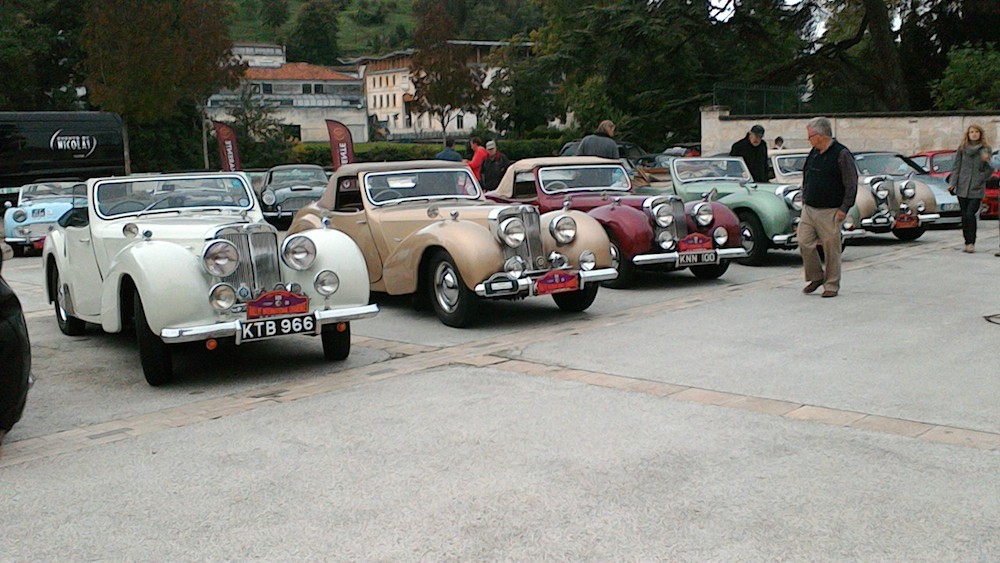 Triumph 1800 Roadsters ready for the Rally