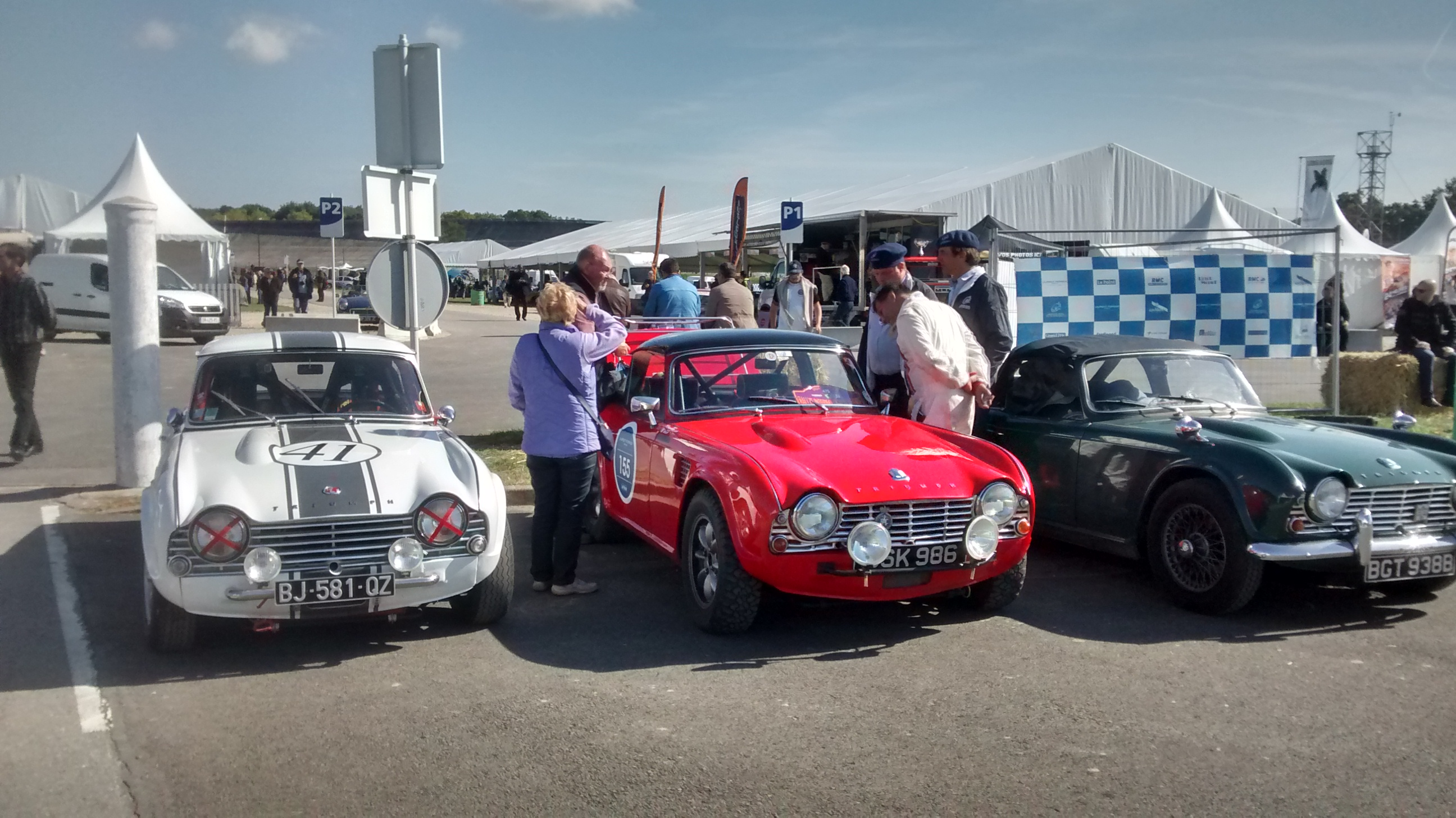 In the Paddock at Monthlhery