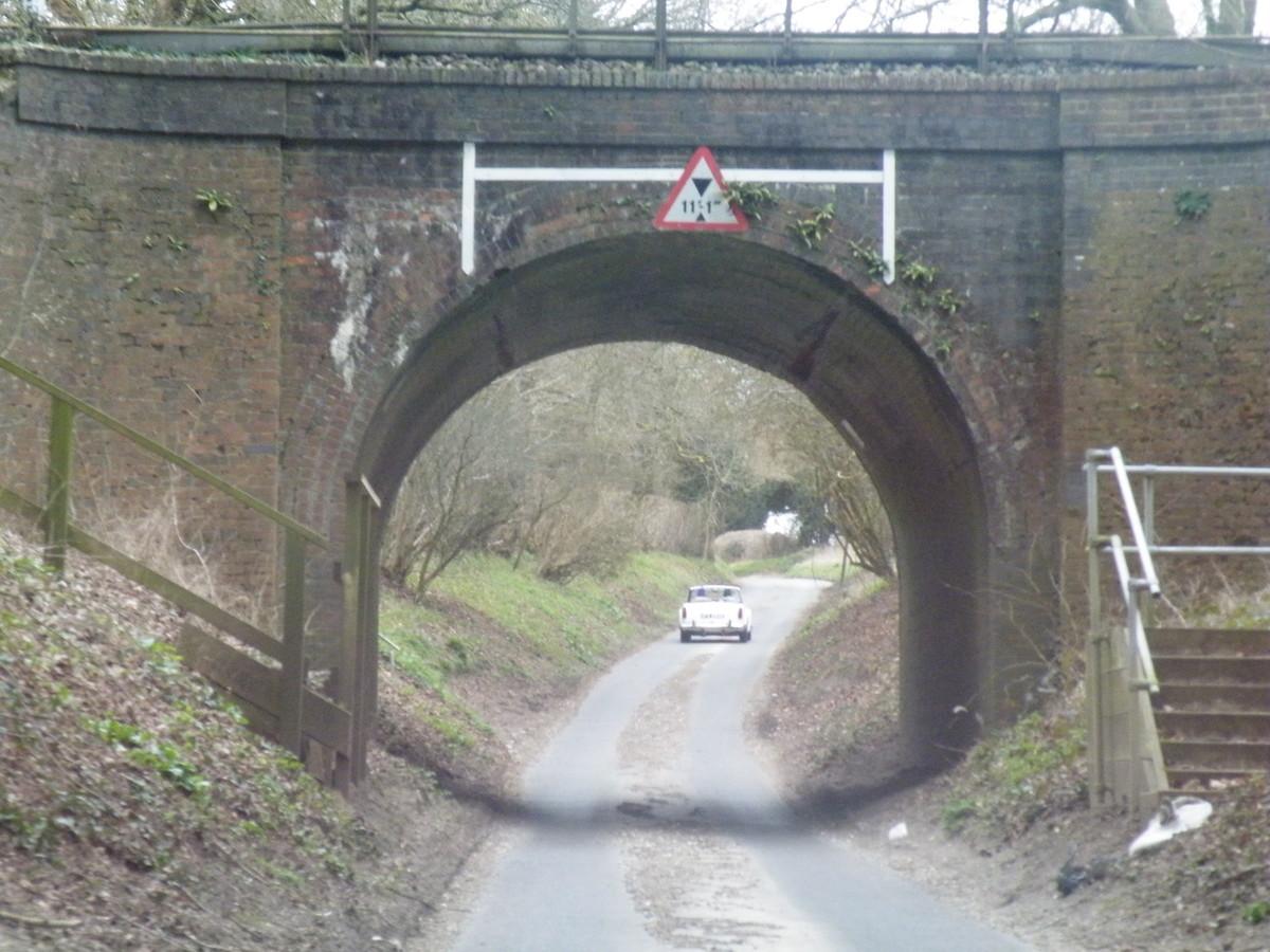 Concerns raised about the low bridge.