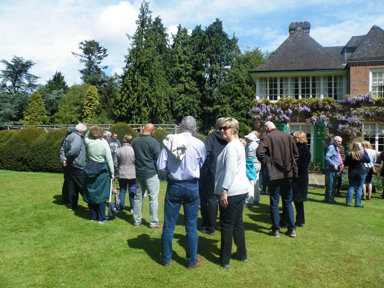 On the Croquet Lawn