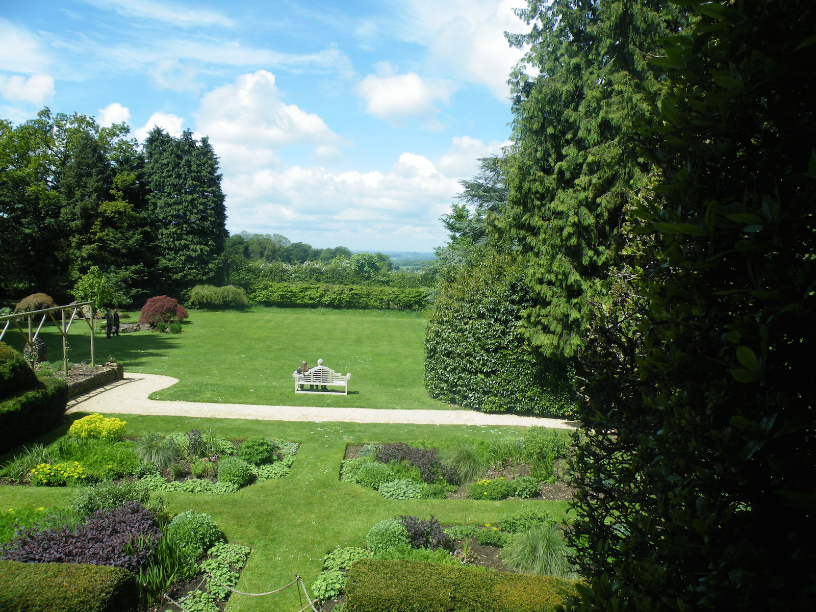 The fantastic gardens at Nuffield House