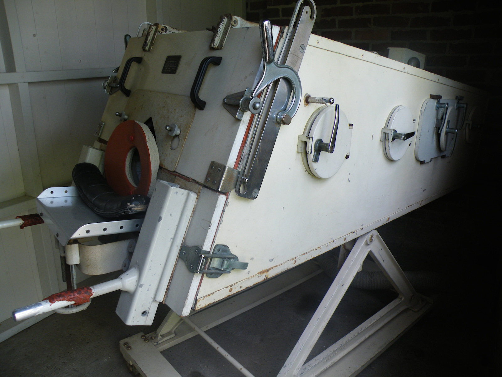 An early iron lung