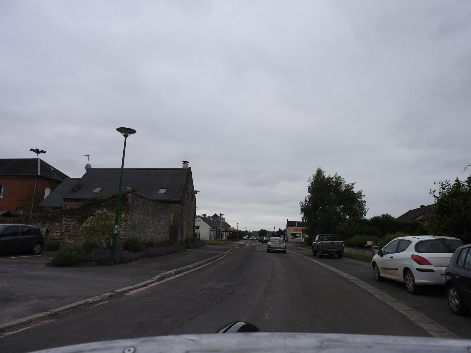 Hoofing it through one if hundreds of french villages