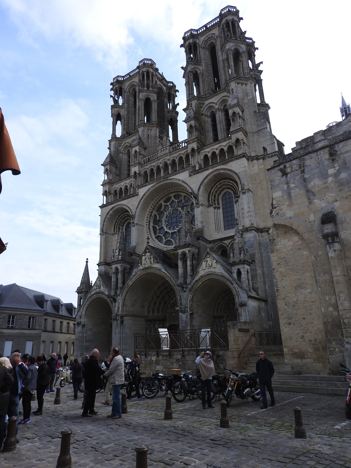 Laon Cathedral - the model for the Notre Dame
