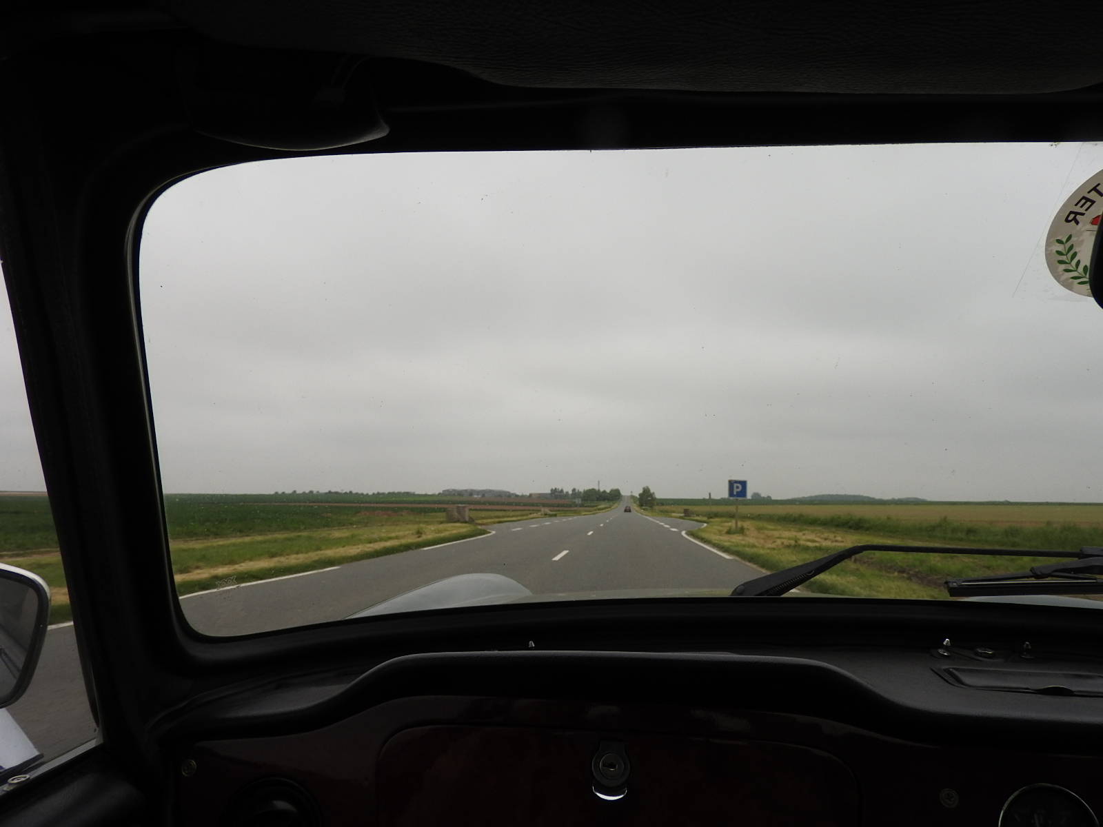 Hammering along long straight roads