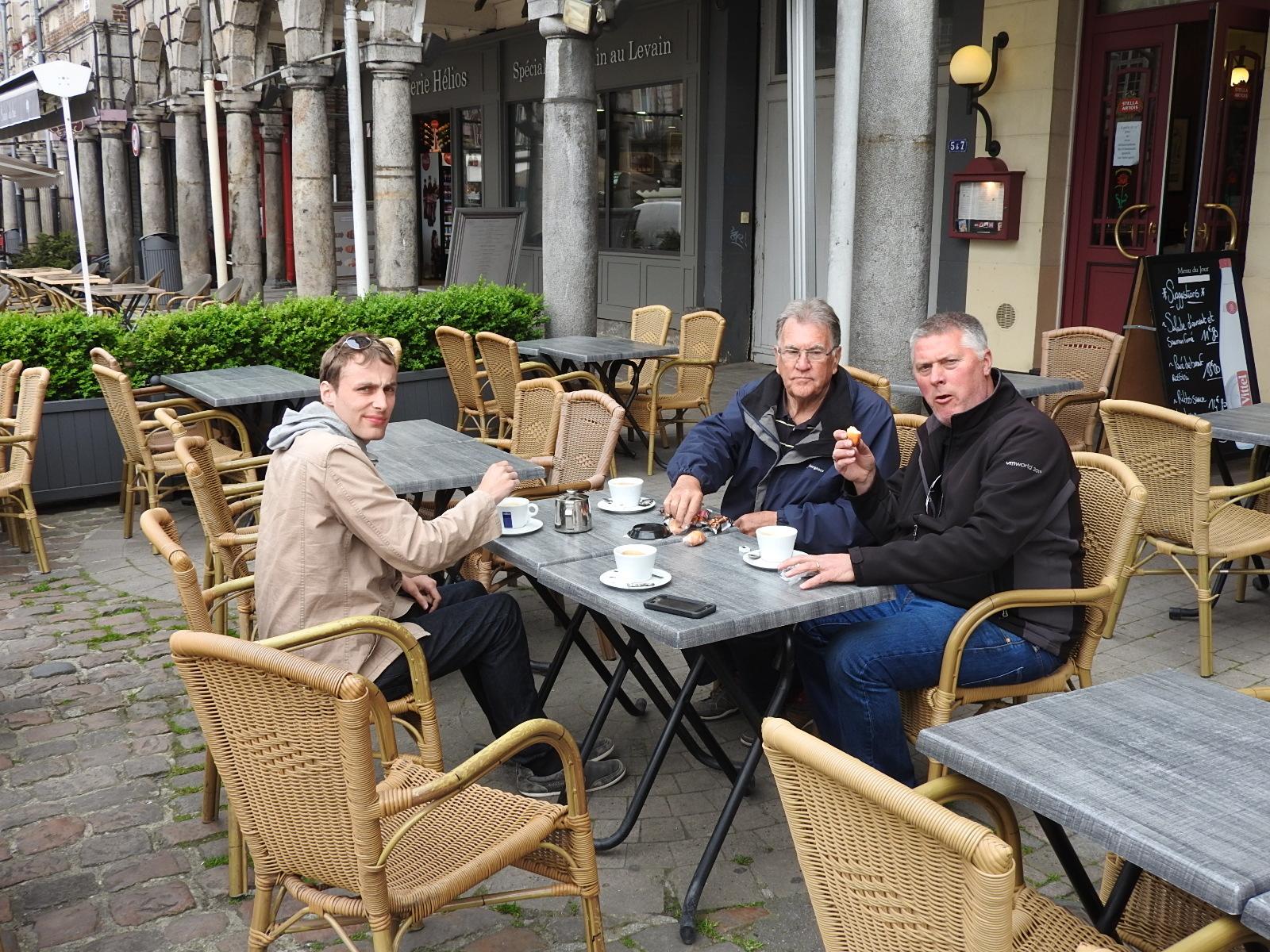 Morning Coffee in Arras