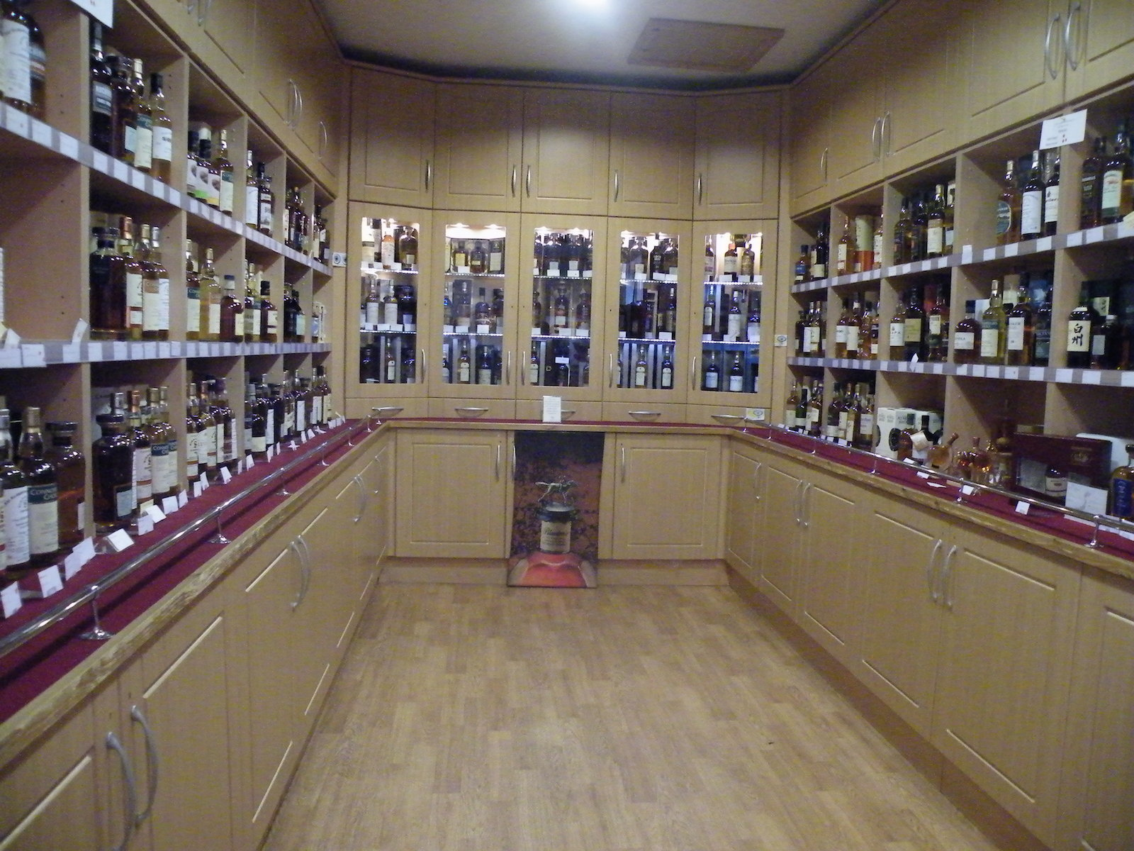 Lots of whisky!