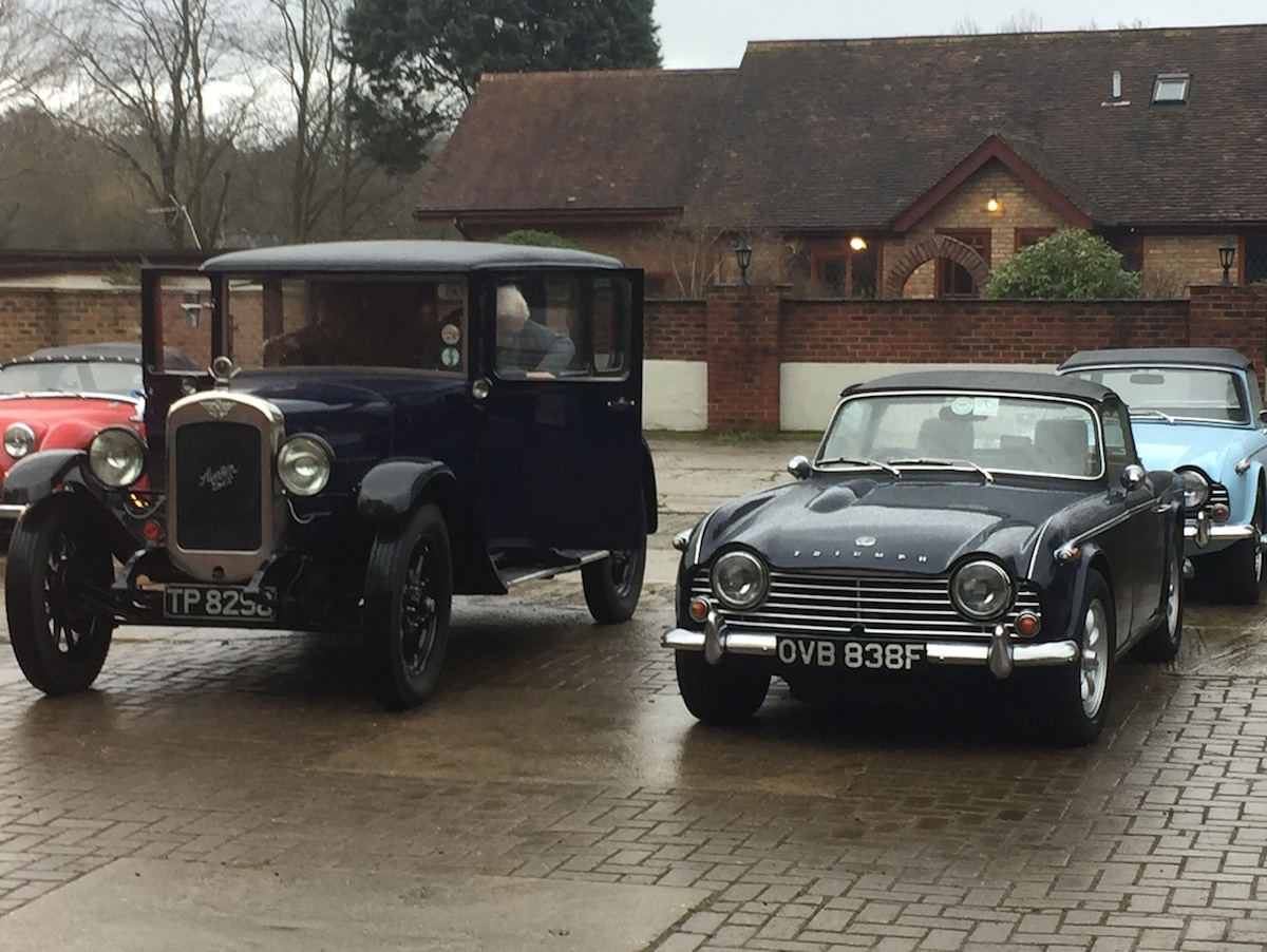 One of Mr Austin's finest sharing space with a couple of TRs