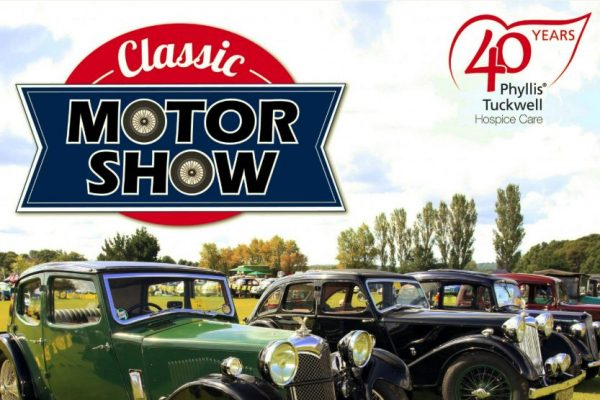 Phyllis Tuckwell's Classic Motor show (Formerly White Dove)